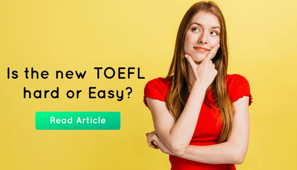 TOEFL hard or easy